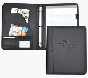 08de86eab856 Letter Size Ring binder/padfolio, 1/2