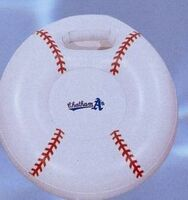 Inflatable Baseball Shape Stadium Cushions w/ Handle /20""
