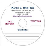 Custom DVD-R for Tax Industry