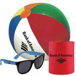 Can Holder/Sunglasses/Beach Ball Set