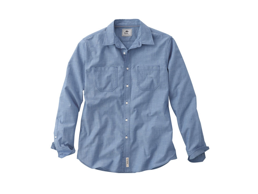 Clearwater Long Sleeve Men's Shirt, #17100 - Embroidered