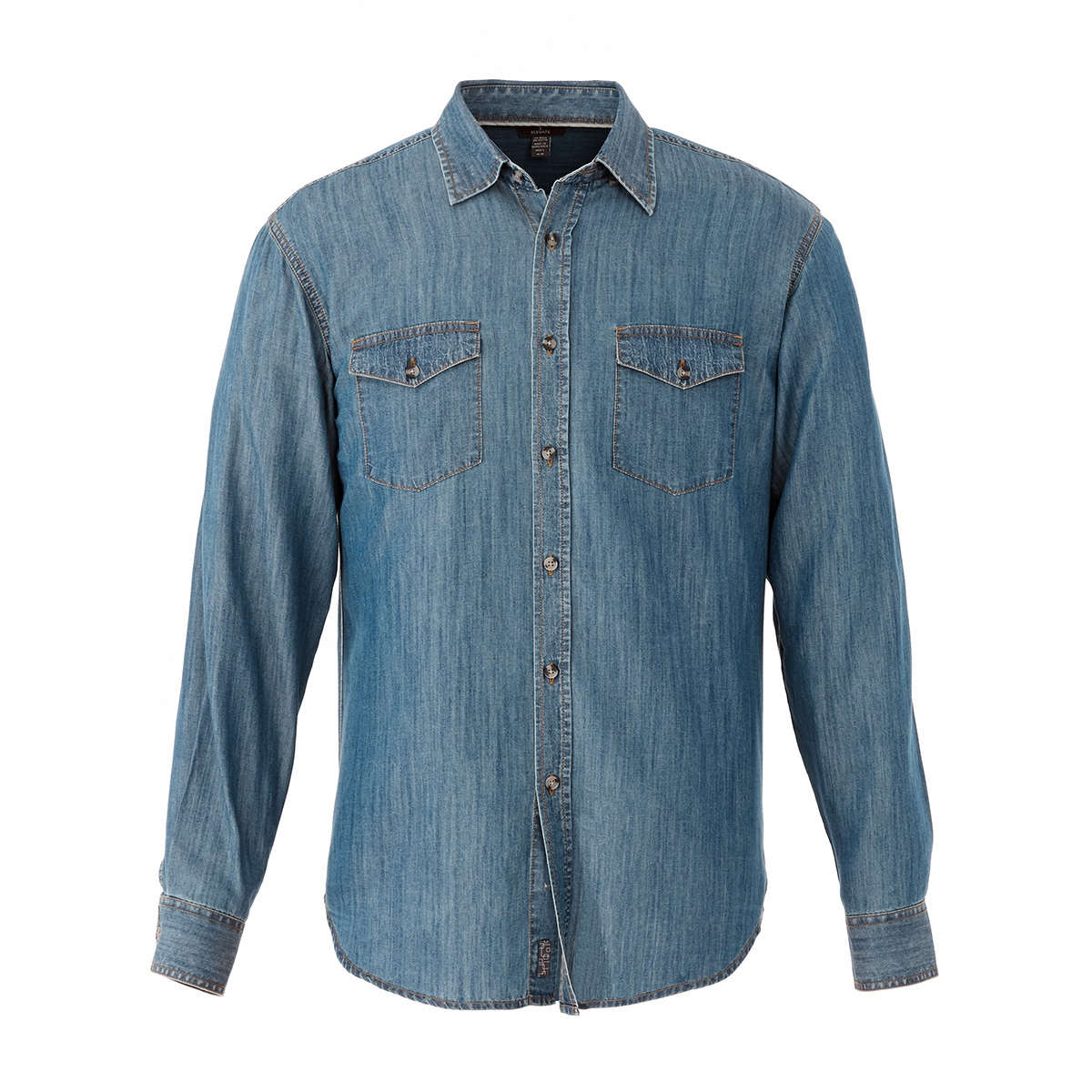 Sloan Long Sleeve Men's Shirt, #17452 - Embroidered
