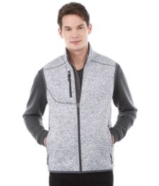 Mens Fontaine Knit Vest, #12502 - Embroidered