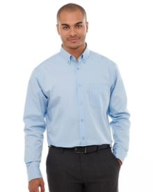 Wilshire Long Sleeve Men's Shirt, #17744 - Embroidered