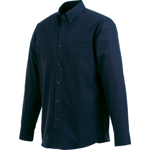 Preston Long Sleeve Men's Shirt, #17742 - Embroidered
