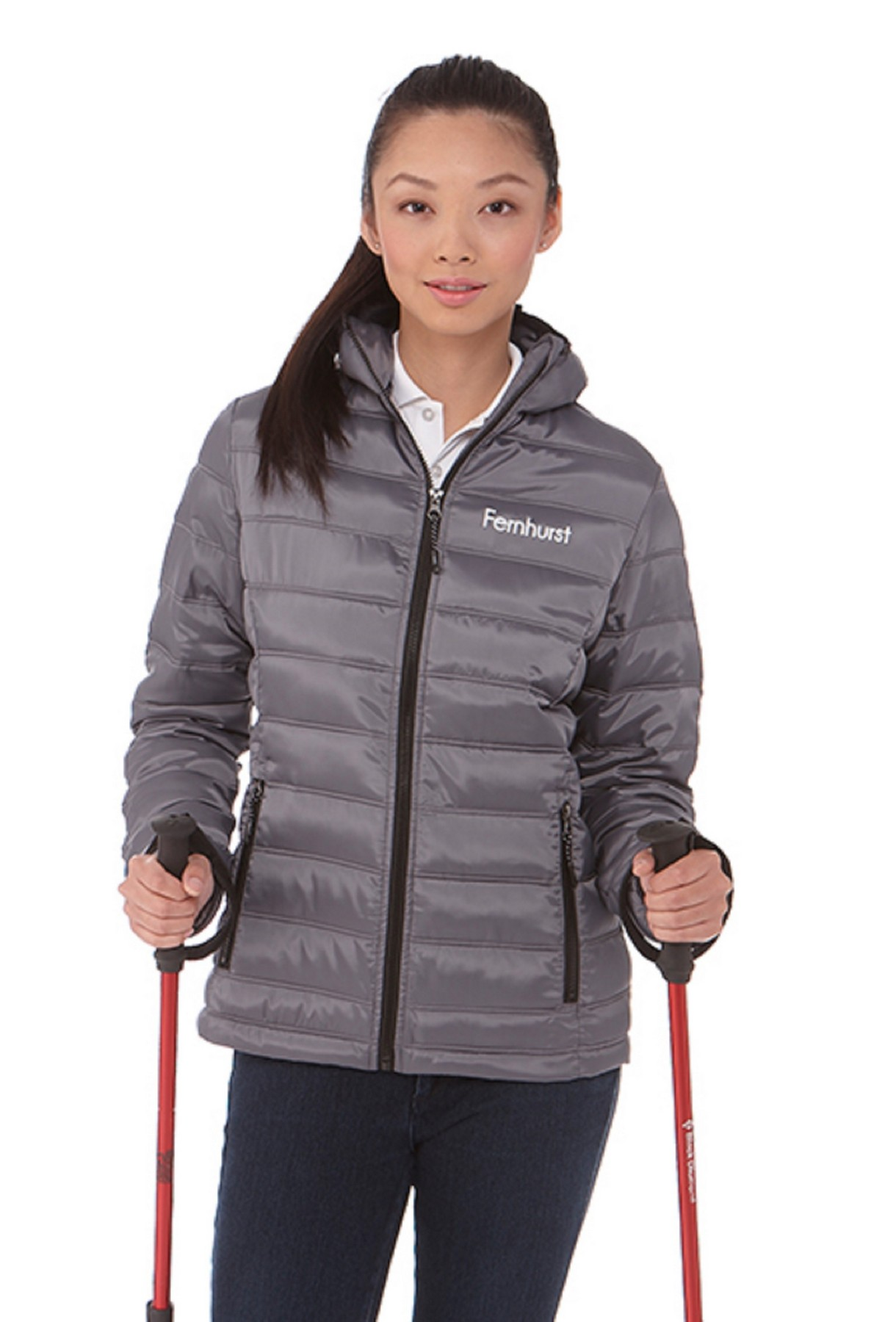 Norquay Women's Insulated Jacket, #99541 - Embroidered