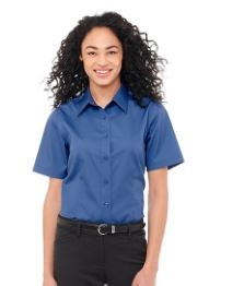 Stirling Short Sleeve Women's Shirt, #97745 - Embroidered