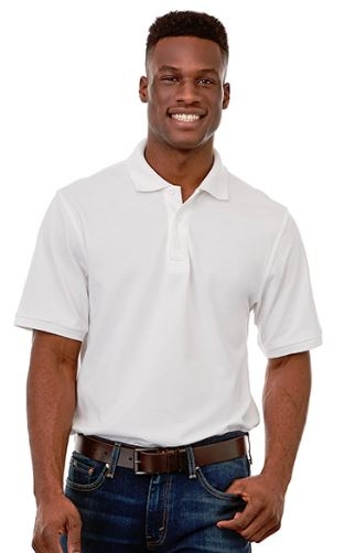 Belmont Short Sleeve Men's Polo Shirt, #16624 - Embroidered