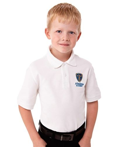 Belmont Short Sleeve Youth Polo Shirt, #56624 - Embroidered