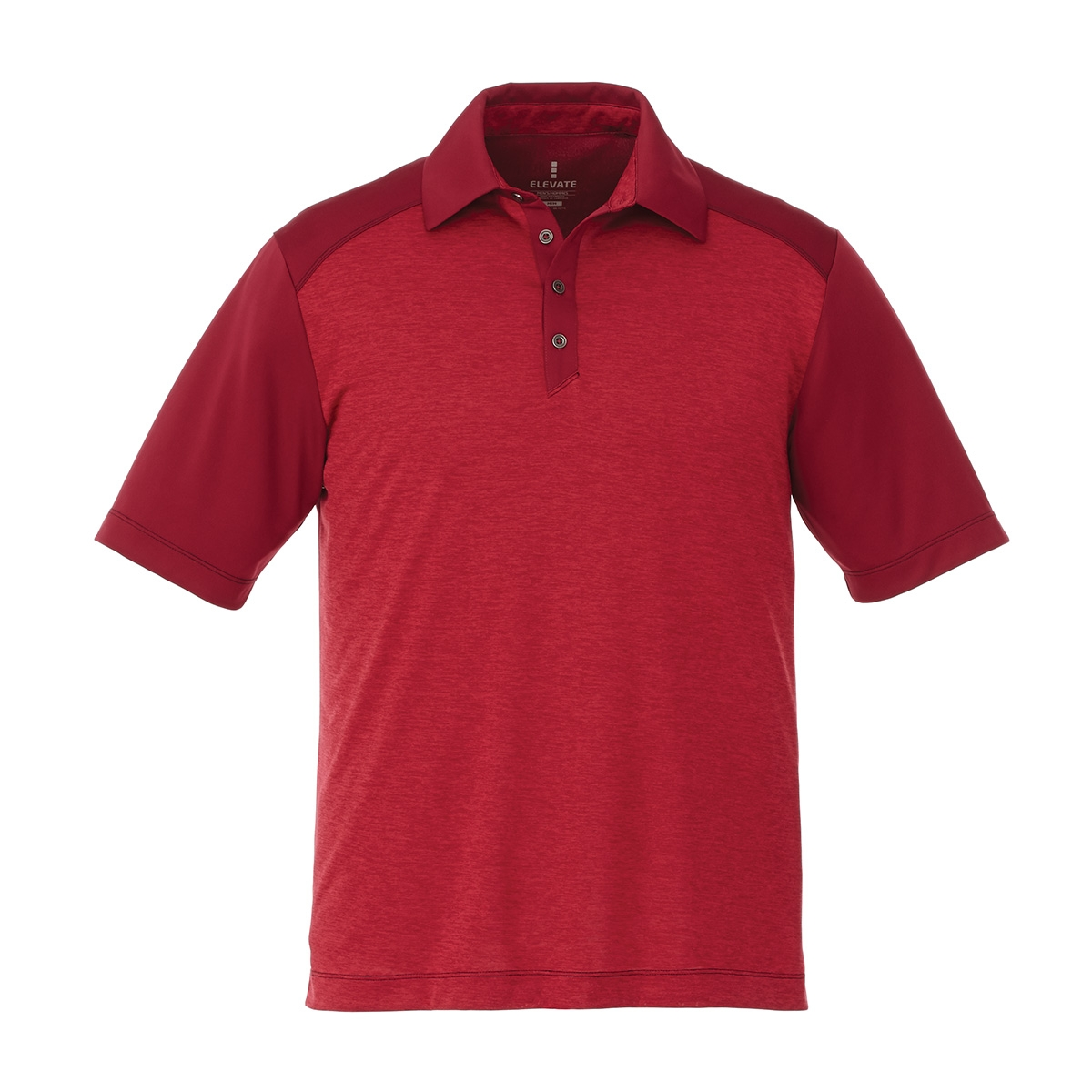 Sagano Short Sleeve Men's Polo Shirt, #16508 - Embroidered