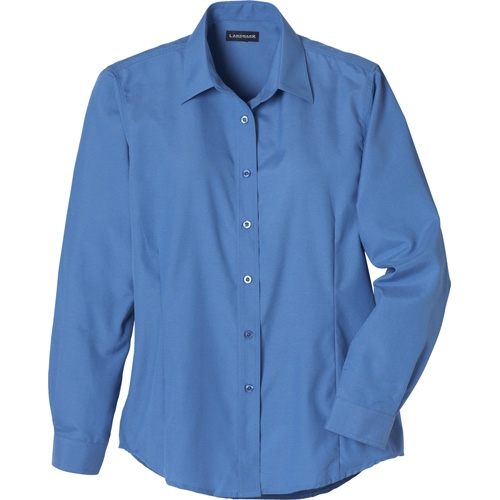 Tulare Oxford Long Sleeve Women's Shirt, #97731 - Embroidered