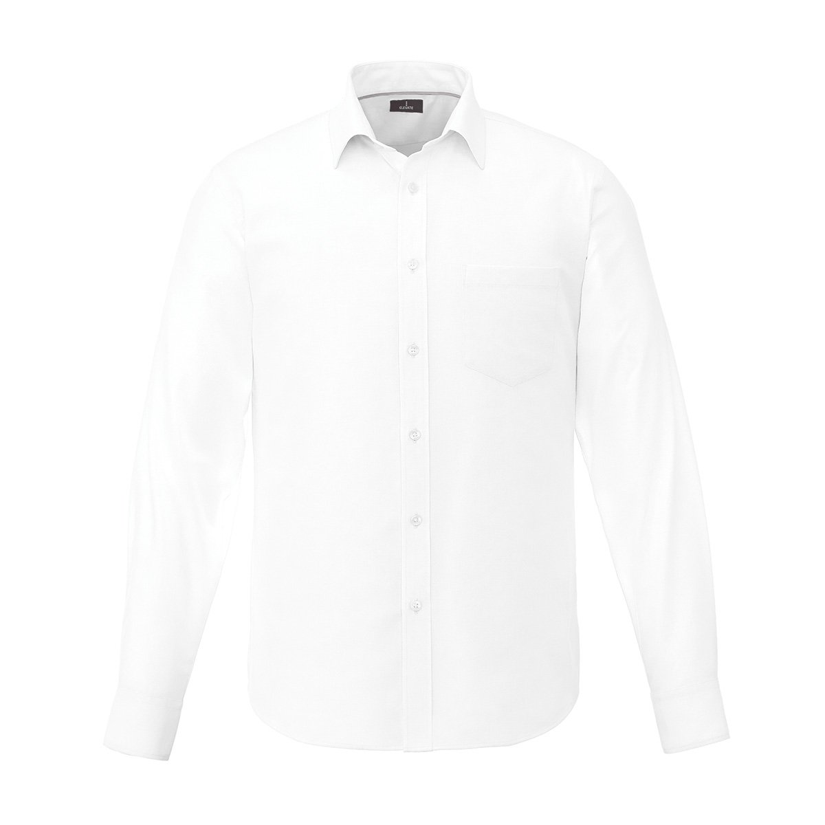 Pierce Long Sleeve Men's Shirt, #17656 - Embroidered
