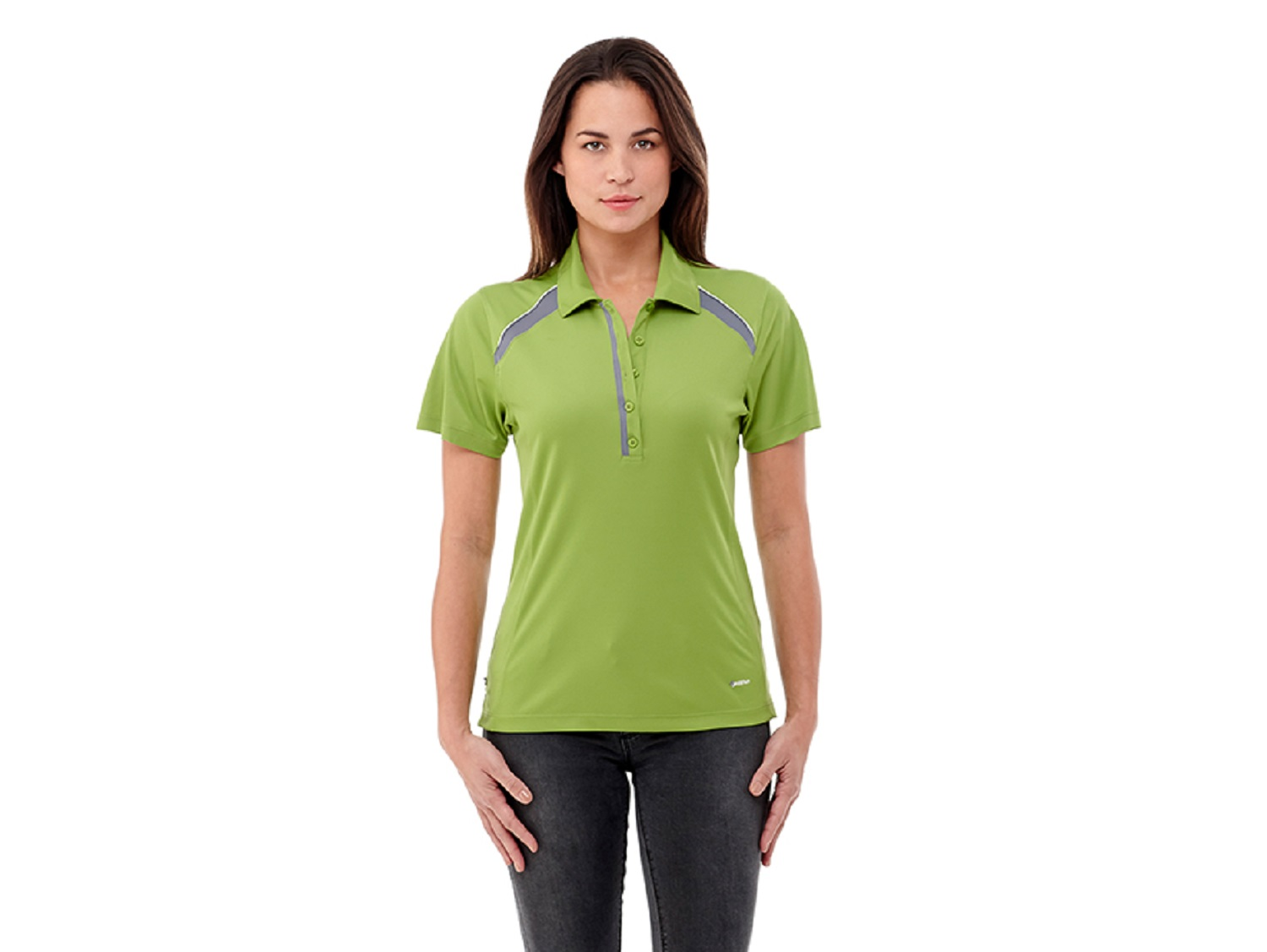 Quinn Short Sleeve Women's Polo Shirt, #96216 - Embroidered