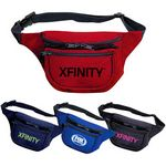 Custom Three Pocket Nylon Fanny Pack
