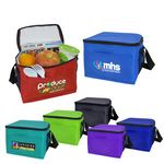 Promo 6-Can Cooler W/ Mesh Pockets