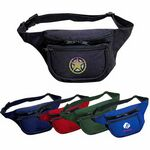 Custom Three-Pocket Polyester Fanny Pack