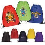 Custom Enlarged Economy Drawstring Backpack