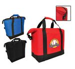On The Go 600D Polyester Insulated Large Cooler Tote