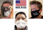 Custom ***MADE IN THE USA*** 2-Layer, Cotton Spandex Mask