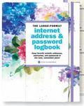 Custom Hydrangeas Large Format Internet Address & Password Logbook
