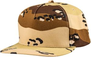 ac2e69afb47 5 Panel Twill Flat Bill Snapback Cap - 9280 - IdeaStage Promotional Products