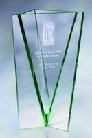 Jade Glass Vase