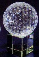 Optic Crystal Golf Ball Award
