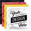 Custom Custom Printed Foil Condoms w/4 Color Process (2 Sides)