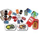Custom Dog Tag Condom Wallets w/Condom & 30