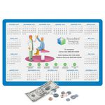 Custom Vynex Peel&Place Ultra Thin removable/repositionable adhesive Calendar Counter Mat-10