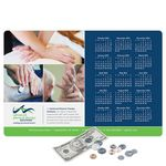 Custom Vynex Peel&Place Ultra Thin removable/repositionable adhesive Calendar Counter Mat-12