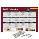 Custom Origin'L Fabric Heavy Duty Fabric Calendar Counter Mat-12