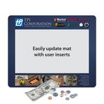 Custom Frame-It Flex Barely There Ultra Thin Window Counter Mat-9