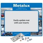 Custom Frame-It Flex Super Duty Window Counter Mat (16