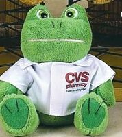 "Continental Series Frog Stuffed Animal w/Shirt (6"")"