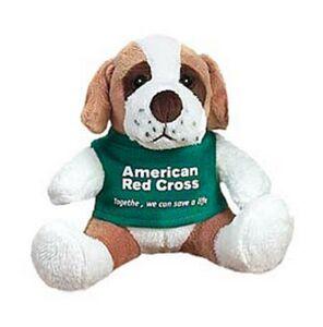 Quincy Saint Bernard Dog Stuffed Animal W Shirt 5 Qi5sb