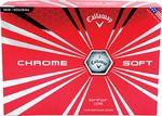 12 Pack Callaway Chrome Soft Golf Balls