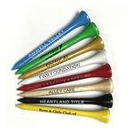 Custom Golf Tees w/1 Color Imprint (2 3/4