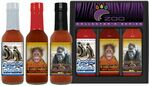 Three Pepper Hot Sauce Pack (3x5oz)