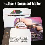 Custom Disc & Document Mailer - 2 Color Disc & Document Mailer