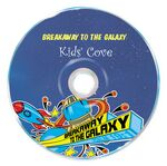 Custom DVD-R Recordable Disc w/ 5-Color Screen Print (4.7 Gb)