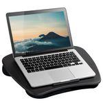 Custom LapGear Lap Desk With Device Ledge And Cushion Back