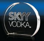 Custom Sunrise Crystal Award (Small)