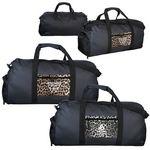 Custom Leopard Pocket Duffle Bag