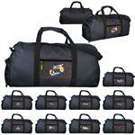 Custom X Line Pocket Duffle Bag