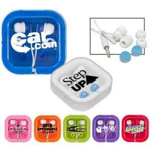Brightly Colored Ear Buds