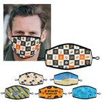 Custom Lined Full Color Fabric Face Mask