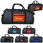 Custom Shiny Pocket Duffle Bag
