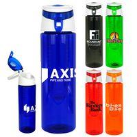 Trendy 24oz. Colorful Bottle with Infuser