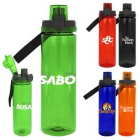 Locking Lid 24oz. Colorful Bottle